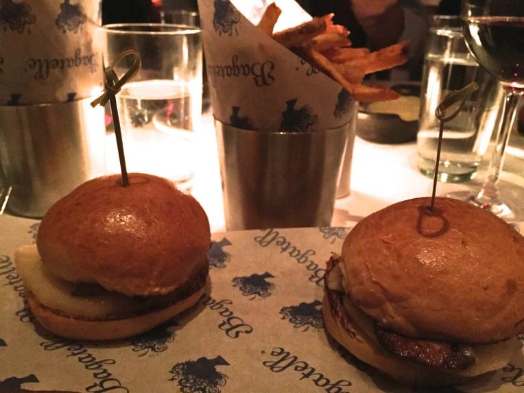 Petit burgers de foie gras