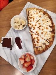Chocolate Marshmallow Pizza