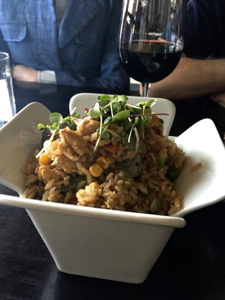 Peruvian mixed fried rice