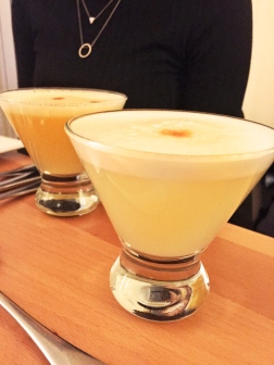 Classic Pisco Sour and Passion Fruit Pisco Sour