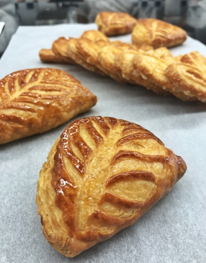 Apple Turnovers and Palmiers